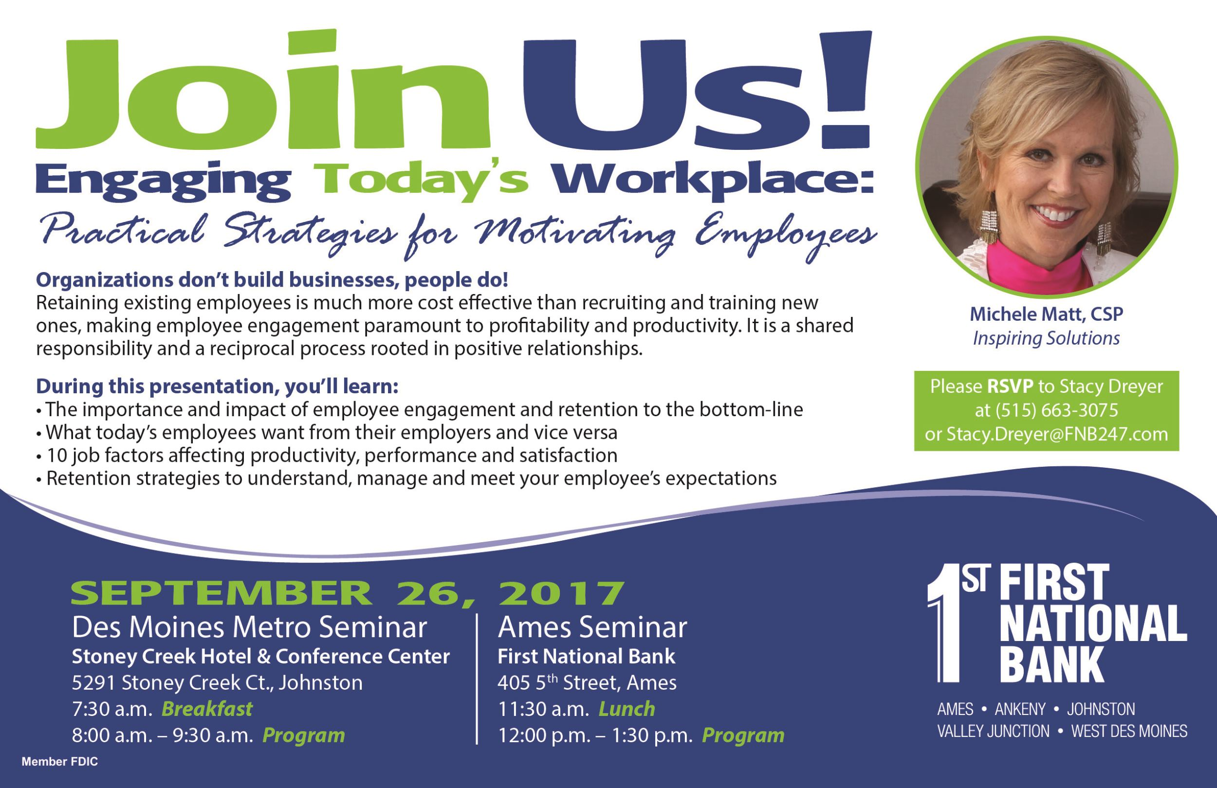 Engaging Today's Workplaces - Strategies for Motivating Employees