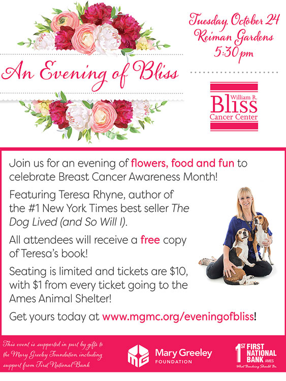 Evening of Bliss flyer
