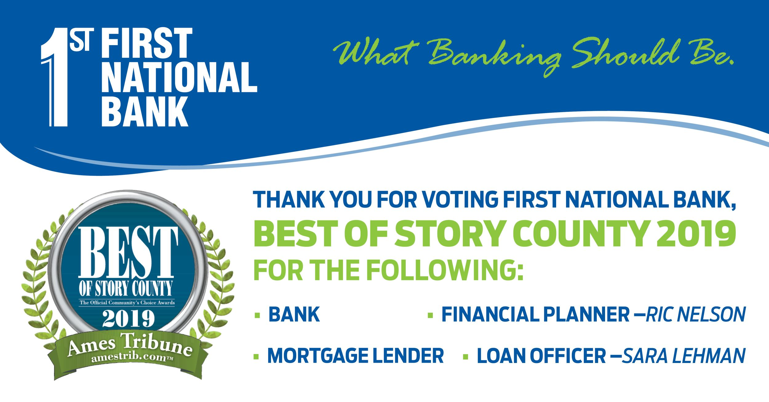 Personal & Business Banking: First National Bank | Ames