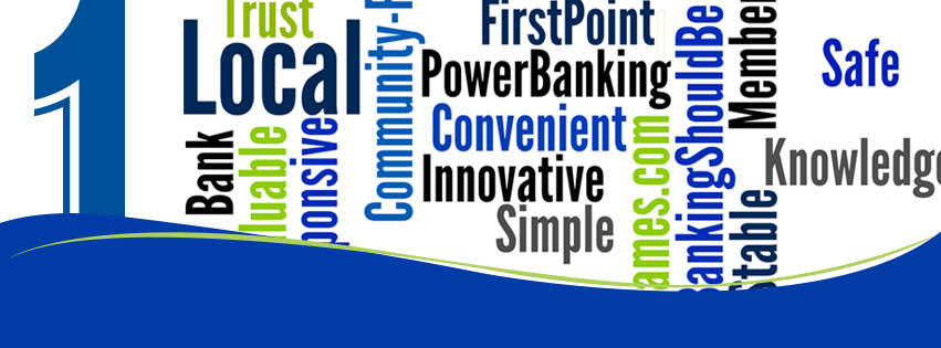 First National Bank Word Cloud
