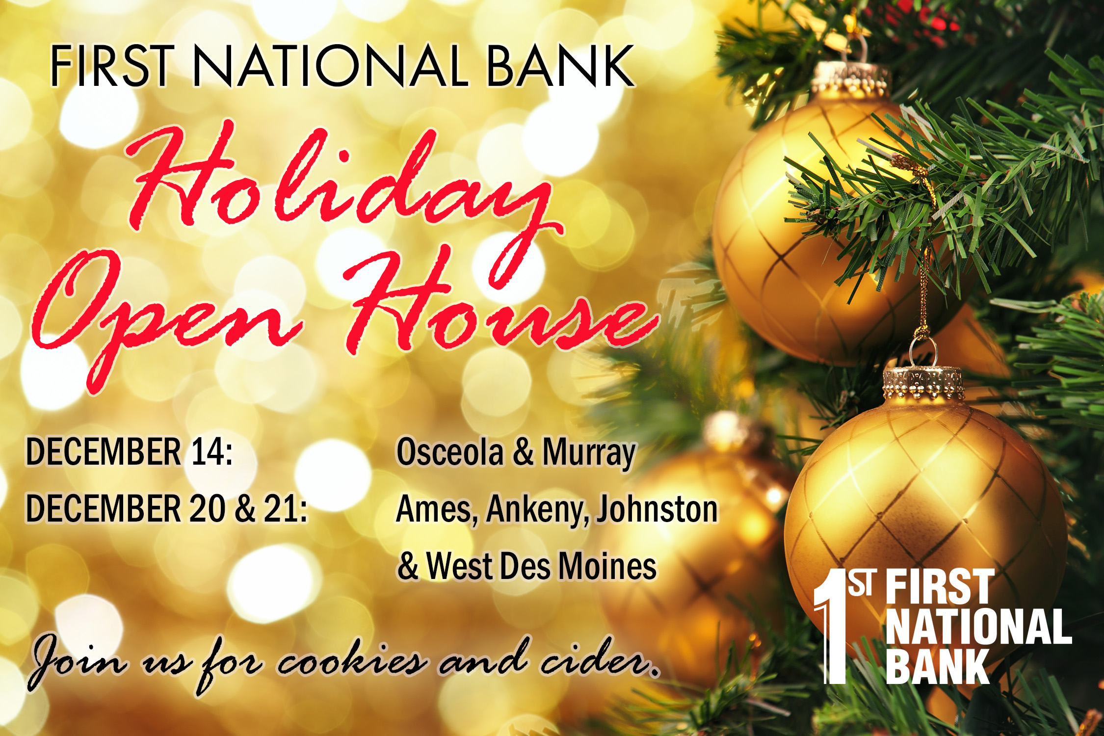 FNB Holiday Open House Invite All