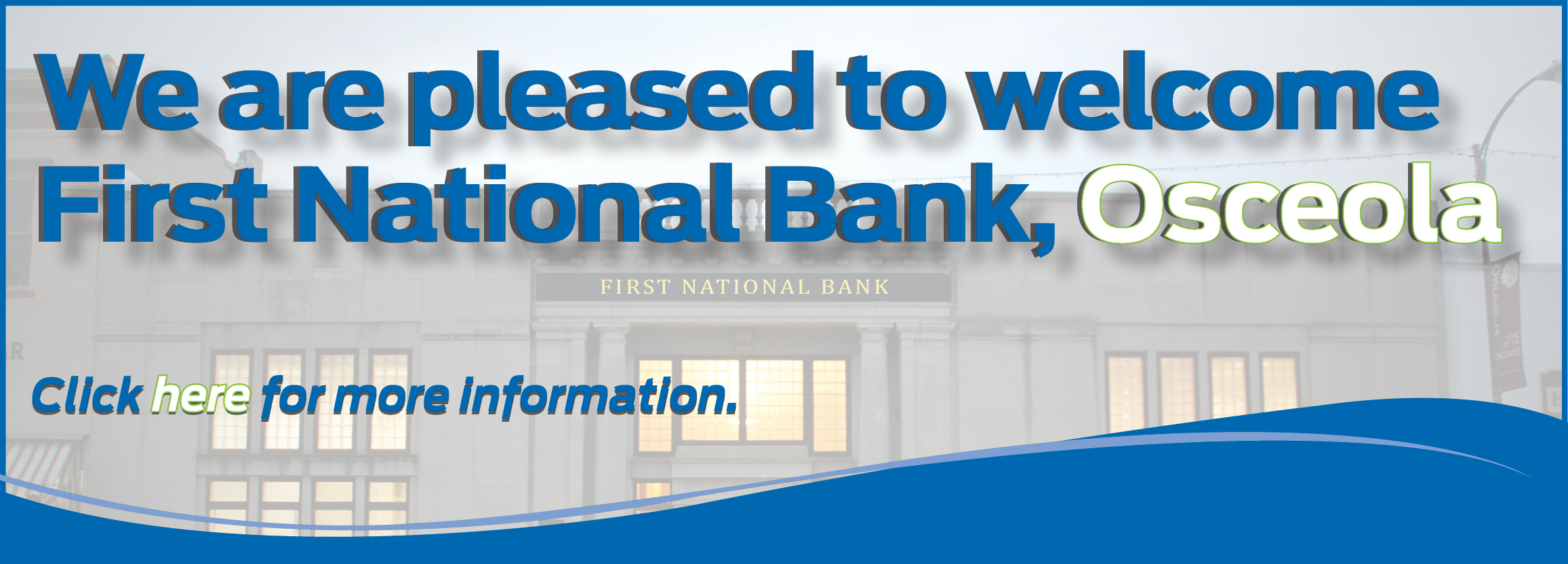 Personal & Business Banking: First National Bank | Ames & Des Moines